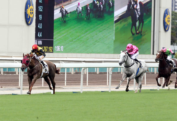Like That powers clear for an easy win - image HKJC