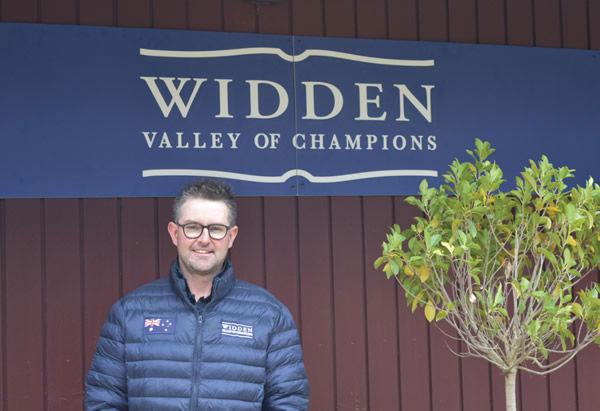 Matt Upton will head up the Widden Stud Victoria pre-training and spelling facility.