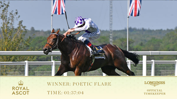 Poetic Flare - Royal Ascot Twitter