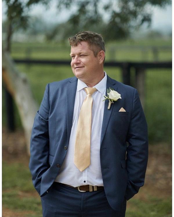 Dr Richard McClenahan, renowned vet and G1 breeder.