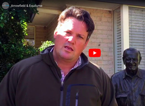Click to hear Paul Messara explain why Equilume light masks have become a valuable tool in caring for the Arrowfield herd.