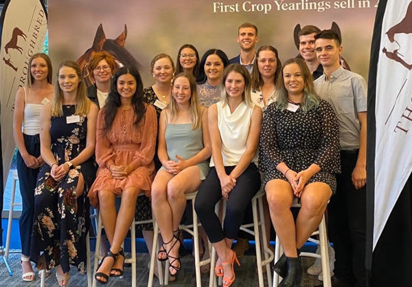 Happy graduates of the inaugural Thoroughbred Industry Careers Explorer program!