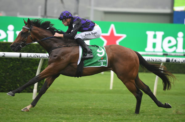 Big Parade wins at Randwick - image Steve Hart