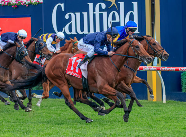 Cape of Good Hope wins the G1 Caulfield Stakes