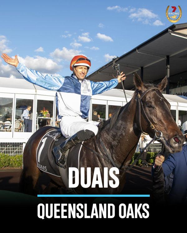Duais (image Michael McInally 7HorseRacing twitter)
