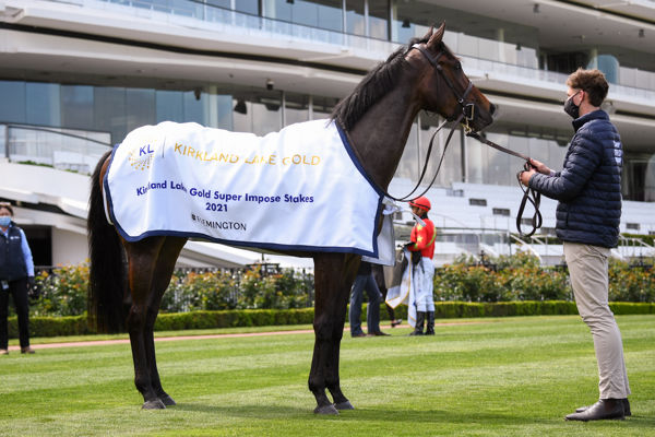 O'Brien will have a strong hand in the oaks (image Reg Ryan/Racing Photos)