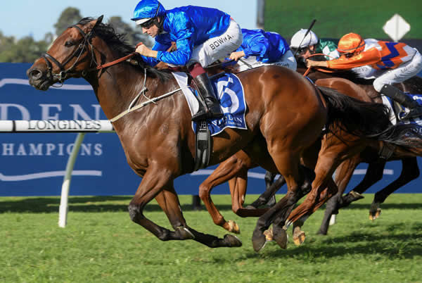 A winner at Rosehill on Saturday,  Esperance is for sale.