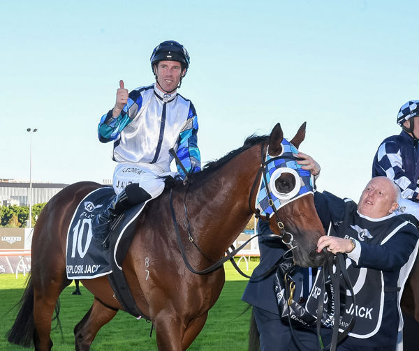 Explosive Jack has won Derbies in NSW, South Australia and Tasmania!