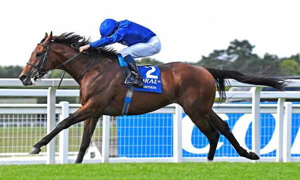 Ghaiyyath wins the Coral Eclipse - image Godolphin Twitter