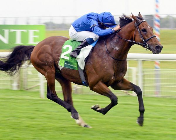 Ghaiyyath has been retired to stud.
