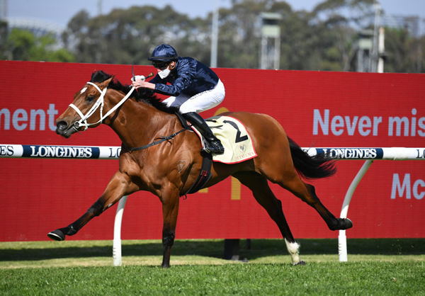 Home Affairs wins the Heritage Stakes - image Steve Hart