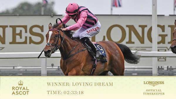 Loving Dream - Royal Ascot Twitter