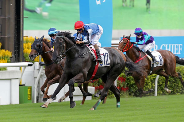 Naboo Attack has his sights on the G1 HK International Sprint - image HKJC