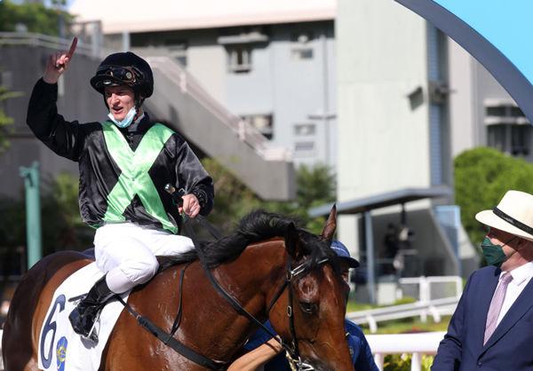 Nervous Witness was an impressive debut winner - image HKJC