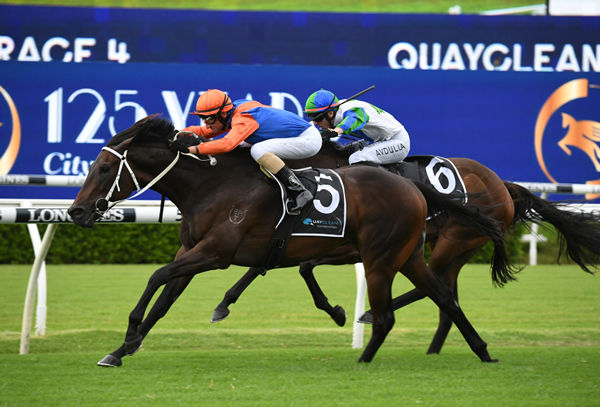 Think It Over wins the G3 Liverpool City Cup - image Steve Hart.