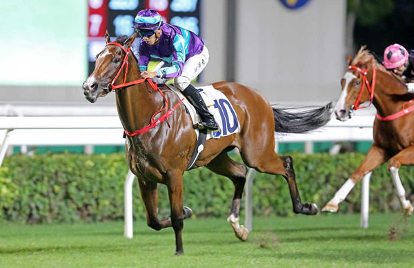 Winning Dreamer goes five for five - image HKJC