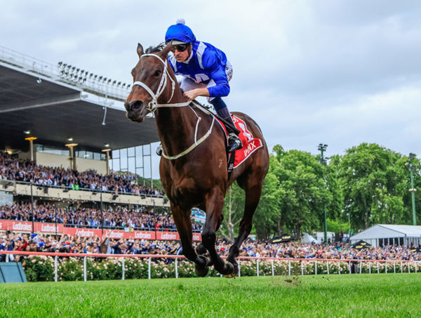 Winx sets the benchmark for Group I wins - image Grant Courtney.