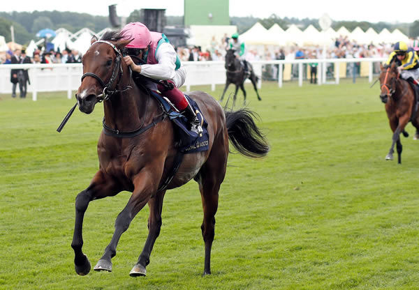Calyx wins the G2 Coventry Stakes at Royal Ascot